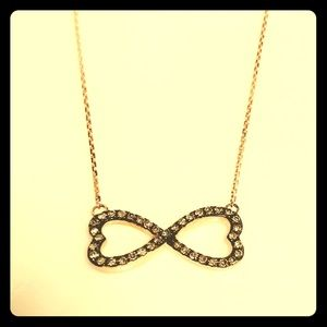 Jewelry - Rose Gold Infinity Necklace